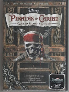 Quadrilogia: Piratas Do Caribe – Dual Áudio (AVI-DVDRip)