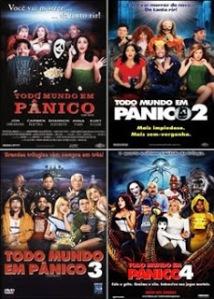 Quadrilogia: Todo Mundo em Pânico - Dublado (AVI-DVDRip)